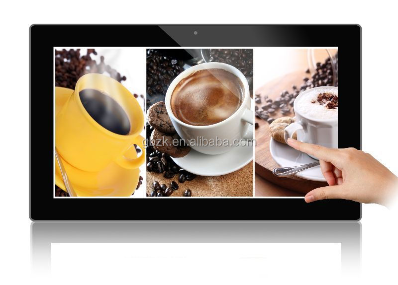 27 Inch Stand Alone Good Quality bluetooth wifi digital photo frame