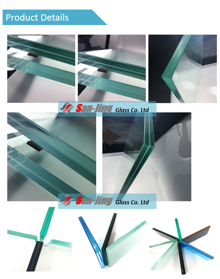 12mm 10mm toughened stairs sliding door laminated tempered glass price