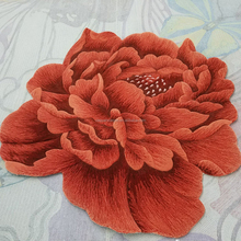 Beautiful 3D Flower Floor Mat Custom Wool Shaped Carpet Area Rugs for Home and Living room