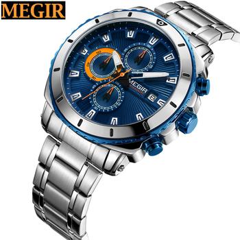 Megir Made In Prc Watch Cheap Wrist Watches Men Branded View Watches Men Branded Megir Product Details From Shenzhen Megir Watch Co Ltd On