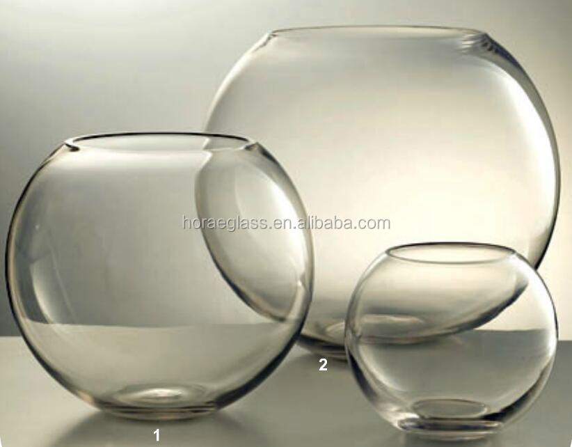 Alibaba & 2017 Hot Sale Round Clear Glass Vase/home Decoration Flower Vase - Buy Decorative Elegant Glass Flower VaseColored Glass Vases Sprayed Color Flower ...