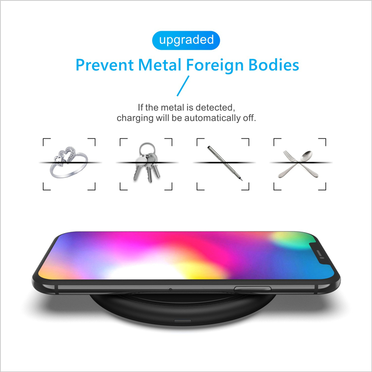 Factory Supplier Qi Universal Wireless Charger