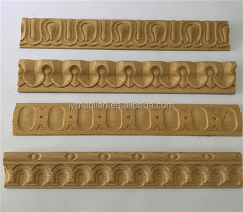 Classic Hand Carved Wood Furniture Molding