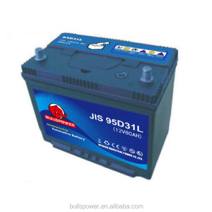 Daewoo automobile 12v 48ah ac delco sutomotive battery