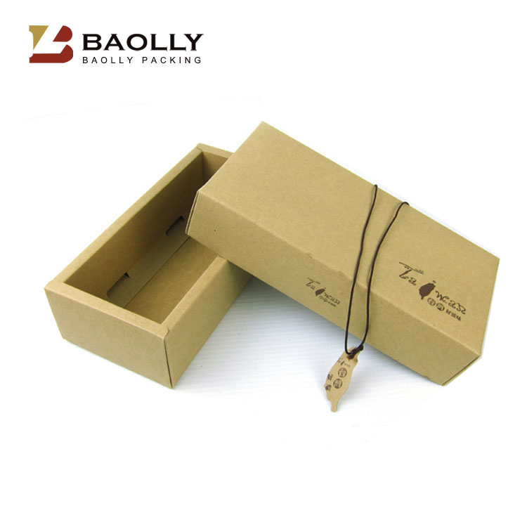 OEM design full color printed kraft paper gift box bow tie gift packaging paper box wholesale