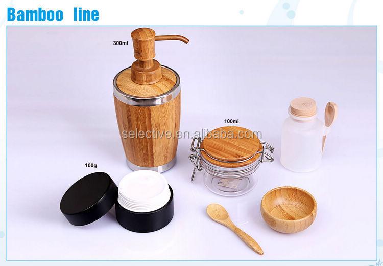 tapa de bamb para envase de alimento tarro empaquetado cosmtico tarro tapa de madera para kilner