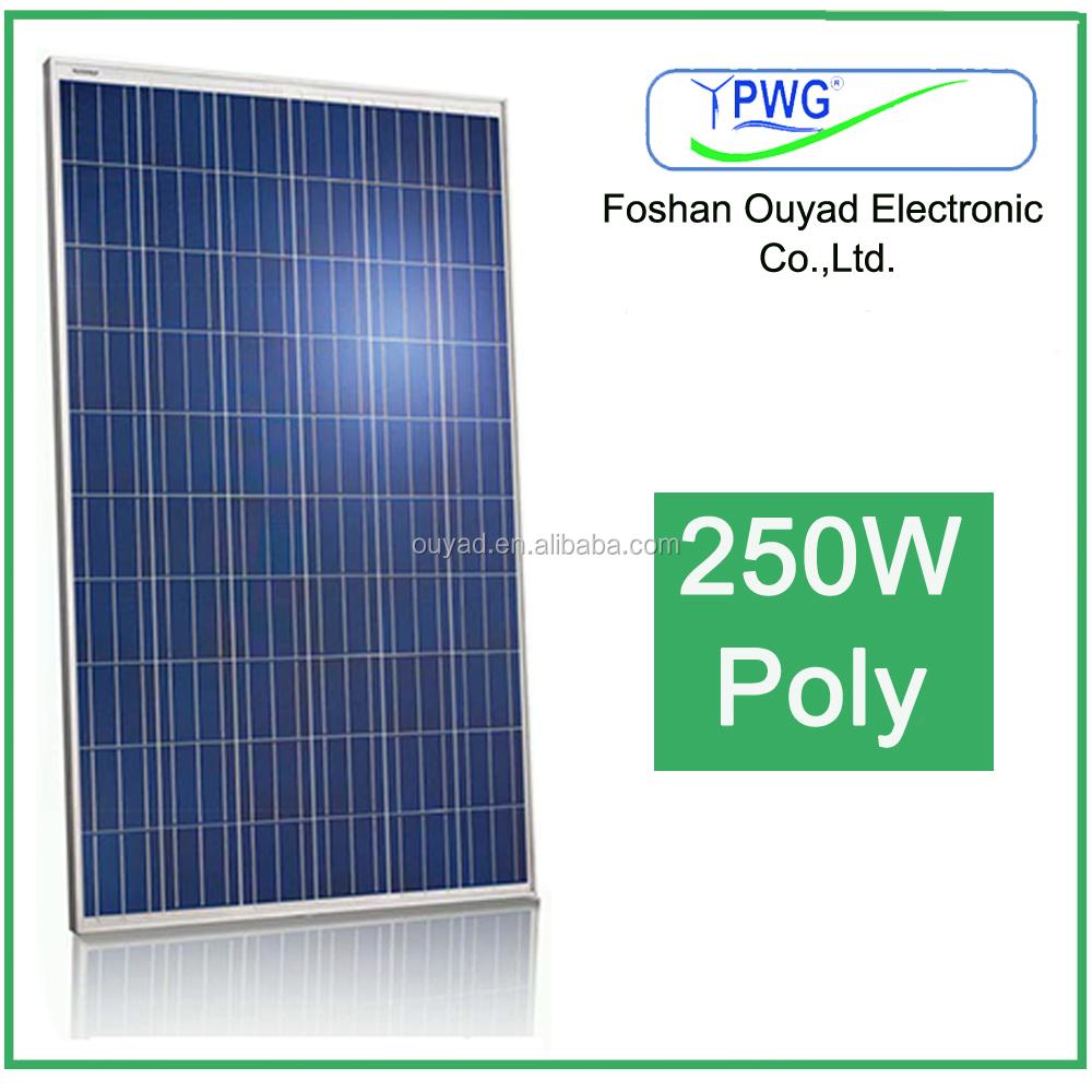 High Efficiency 1kw Solar Panel Solar Panel Price Solar