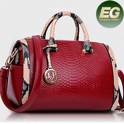 Women handbags brands cross body bags snake skin PU leather bag lady tote bag SY6341