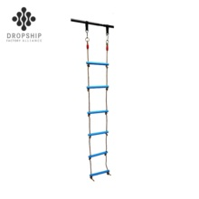 Dropship Chinese fabrikant kids klimtouw <span class=keywords><strong>ladder</strong></span> tuin vouwen extension