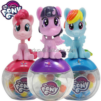 Coklat Manis Permen Kontainer Dispenser Dengan Bobble Kepala Little Pony Kartun Gambar Buy Permen Mainan Wadah Manis Kartun Dispenser Product On Alibaba Com