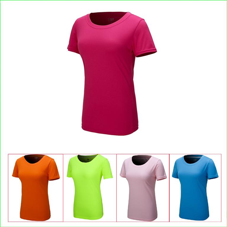 a0c0f5cf9d6a5 Get Quotations · WST01 Dry Fit Sport Women Summer Casual Designer UV  Resistant Sport Wear Women Quick Dry Sport