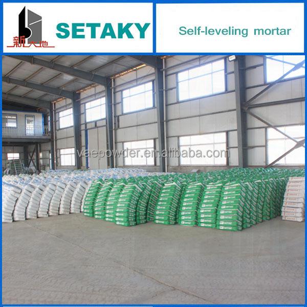 China Made Good Price Flooring Self Leveler For Pvc Flooring