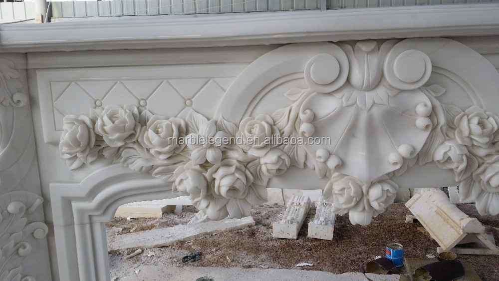 castle and palace decoration italian marble fireplace surround