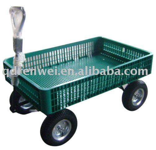 Plastic Garden Wagon Cart Tc1858   Buy Cart,Garden Cart,Tool Cart Product  On Alibaba.com