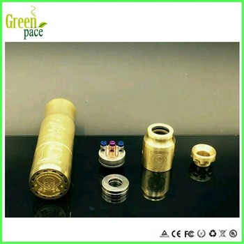 Scndrl Competition Pure Brass 18650 Mod Magnetic Control Vape