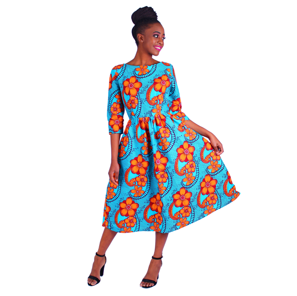 100% Cotton Plus Size African Kitenge Top Designs Traditional Bridesmaid  Dresses Pictures And Skirts - Buy African Kitenge Top Designs,African ...