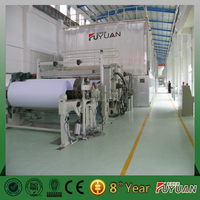 Best price notebook exercise book paper making machine for sale