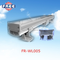 Customized length 24w aluminium outdoor wall mounted light led wall washer fixtures