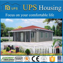 Steel Material and Hotel,House,Shop,Villa Use prefabricated ready made wooden houses
