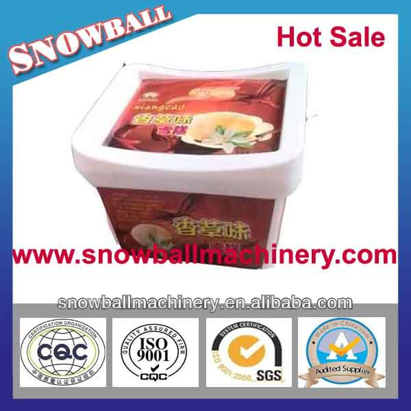 500 ml/ 18 oz / square plastic ice cream container with lid/ice cream tub