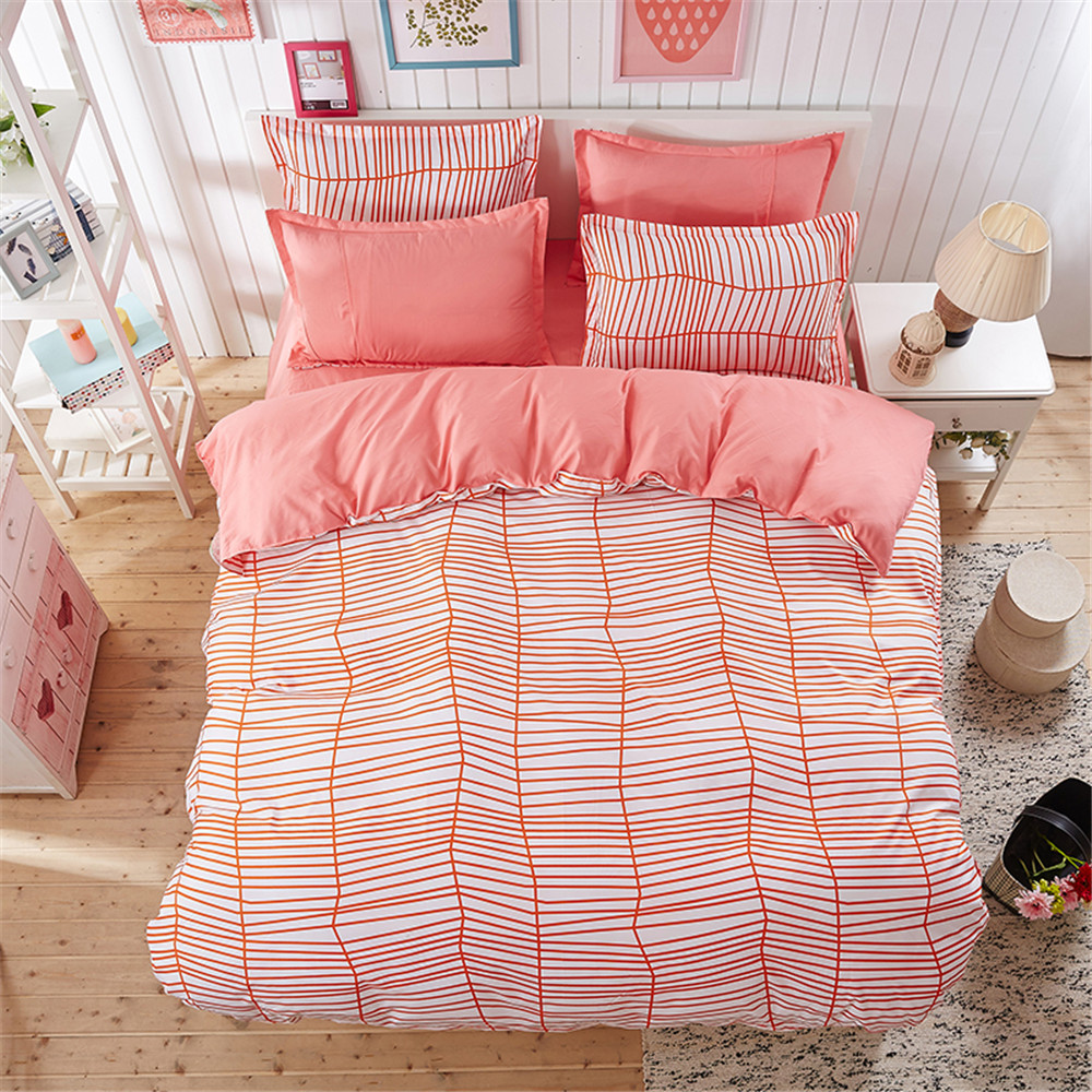 Red And White Striped Bedding Twin Promotion Shop For