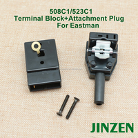 508c1-101 523c1-101 Terminal block+Attachment plug for Eastman cloth cutting machine