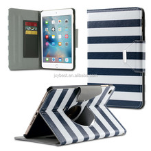 Comfort View Fashion Magnetic Stand Flip Smart Cover case for ipad mini 4 Card Holder