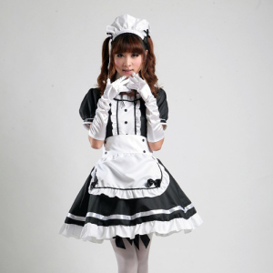 fashion cosplay costumes japanese style sexy maid costume for adult girls