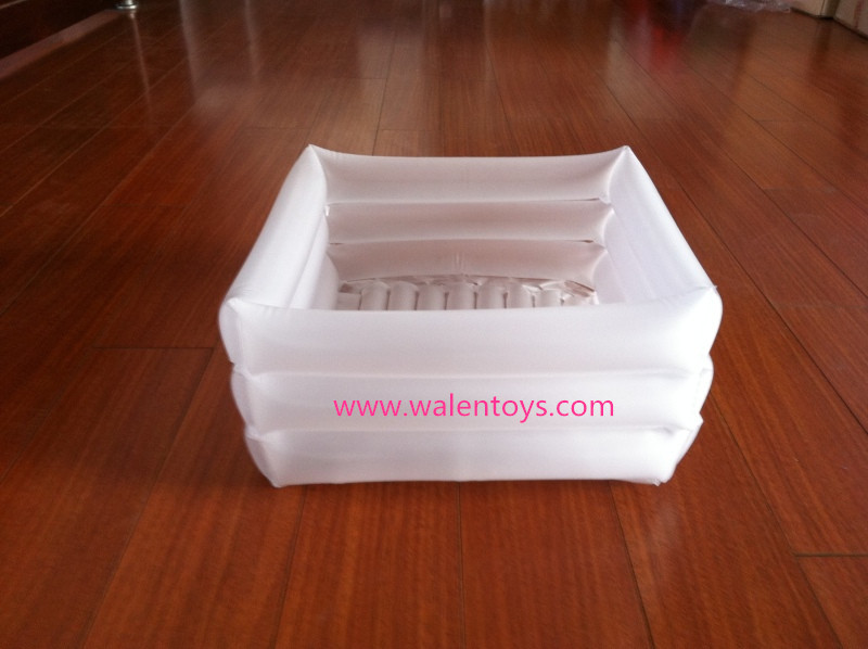 transparent inflatable footbath inflatable foot tub foot basin buy inflatable footbath product. Black Bedroom Furniture Sets. Home Design Ideas