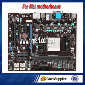 100% Working Desktop Motherboard For MSI A75MA-P35 fully test