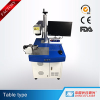 CAAS/MAX/RAYCUS/IPG fiber laser marking machine for sale for metal watches camera auto parts buckles