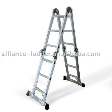 Mutipurpose ladder EN131,ANSI,AS/NZS certificates aluminum scaffold
