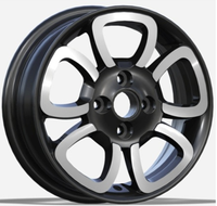 2019 new positive offset car alloy wheels14 inch