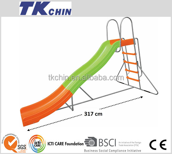 CE outdoor slide with swing slide for giant slide for sale
