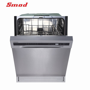 Smad Good Price and Quality Front Control Home Dish Washer Machine
