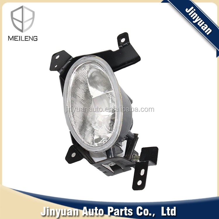Lamp Car 12v White Front Fog Lamp for HONDA JAZZ FIT 1.3 1.5L OEM 33901-SEN-H01 With DRL Daytime Running Light Led