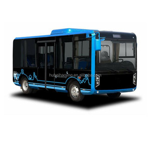 6.5m pure electric mini city bus for sale