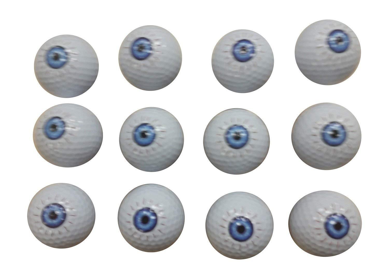 Eyeball Golf Balls (12 Pack)