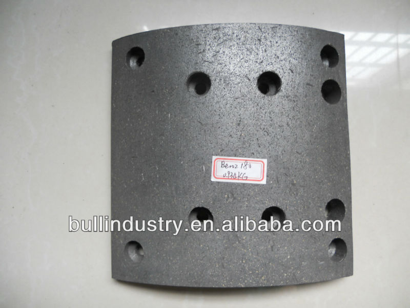 Supply High Performace Heavy Truck Brake Lining 19495 non-asbestos