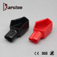 Plastic battery terminal end cap, ROHS flexible rubber cable end caps,PVC Car Battery terminal cover