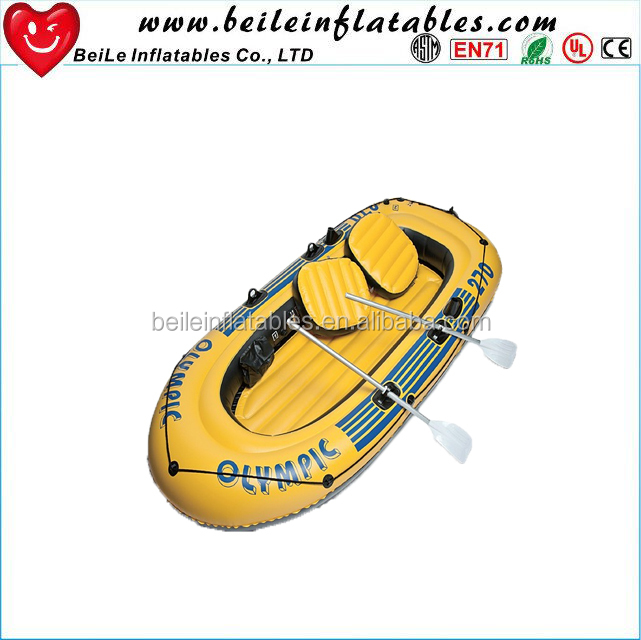 China manufacture inflatable motor boat with electric motor