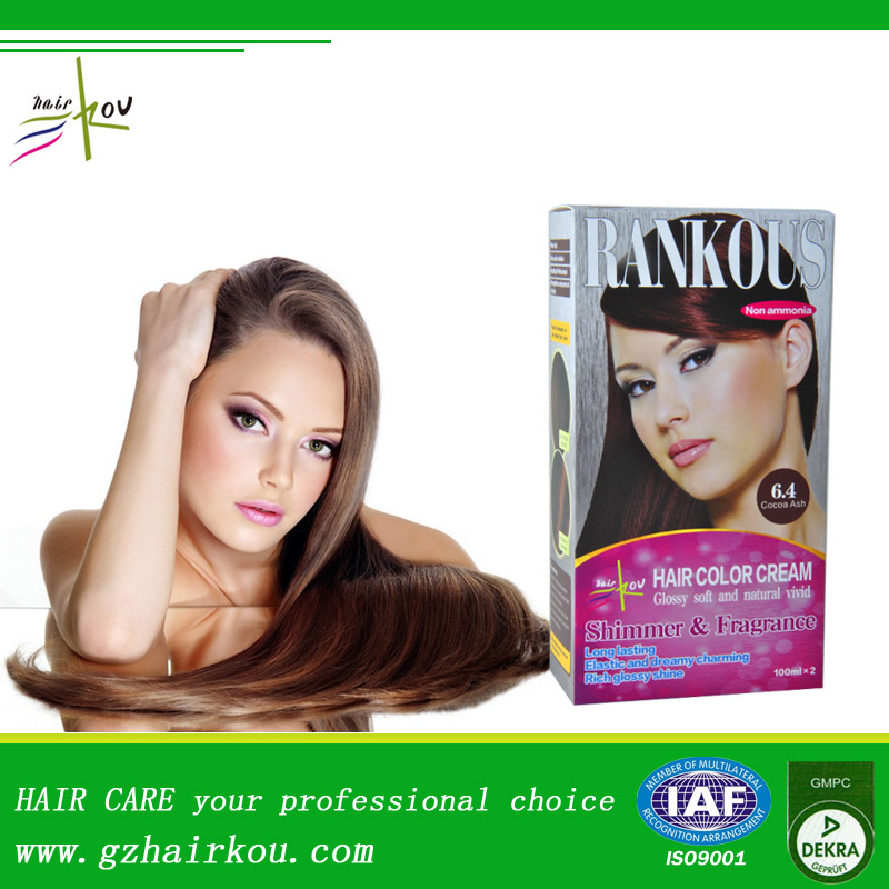 Glow in the dark hair dye, hair color kit for DIY use GMPC factory