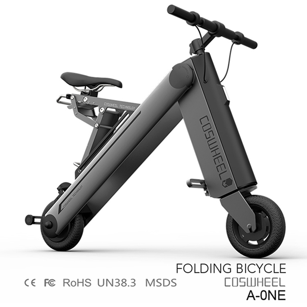 NO MOQ Required Coswheel A-one Portable Electric Bicycle