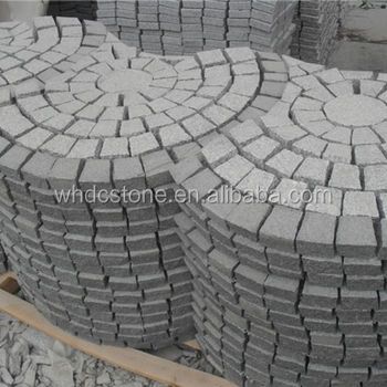 China High Quality Natural Stone Quarry G603 Granite Cube Stone For