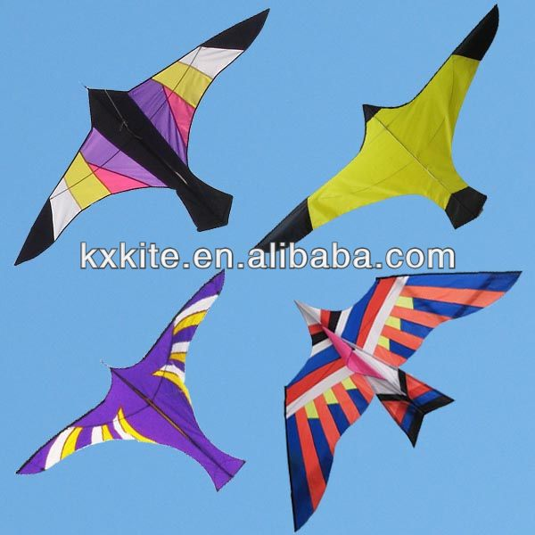 Various kinds of flying bird kite from the kite factory