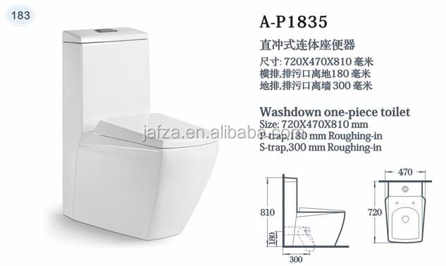 Elegant 1835 Sanitary Ware Ceramic Toto Water Closet Toto Toilet