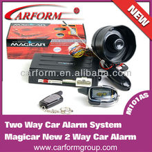 two way LCD car alarm remote control frequency 433MHz Magicar M101AS