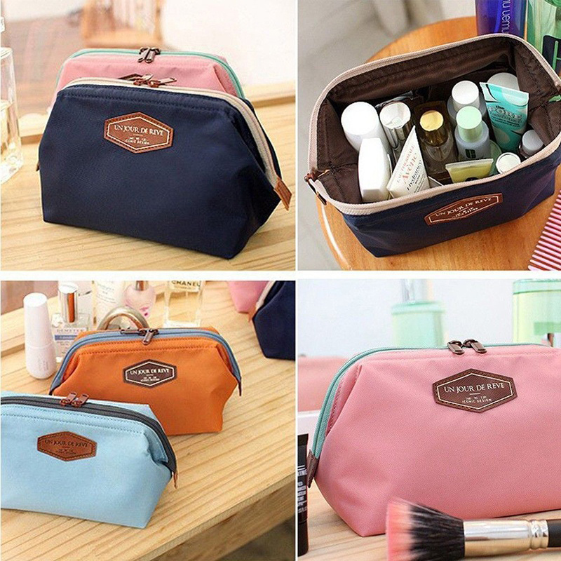 Women Makeup Cosmetic bag Organizer Toiletry Storage Travel Handbag Wash pouch