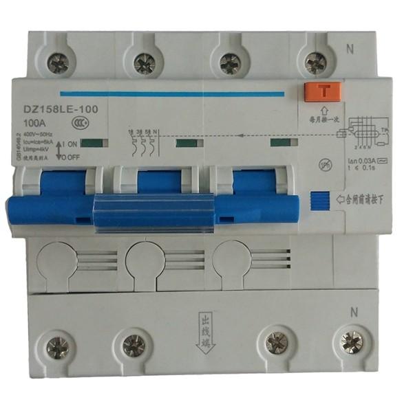 China Supplier Good Price 4p Elcb 250 Amp Dc Circuit Breaker Mcb ...