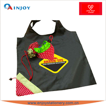 Strawberry Pattern Foldable Eco-Friendly Tote Shopping Bag